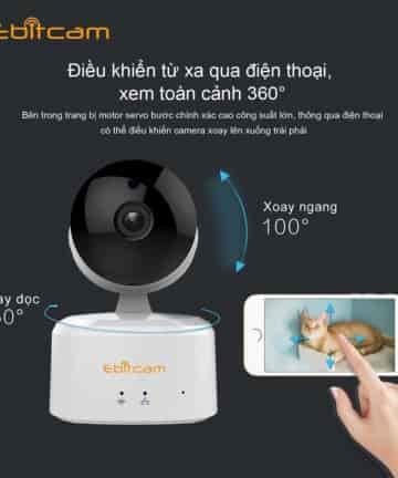 Camera IP Ebitcam E2 (1.0MP)