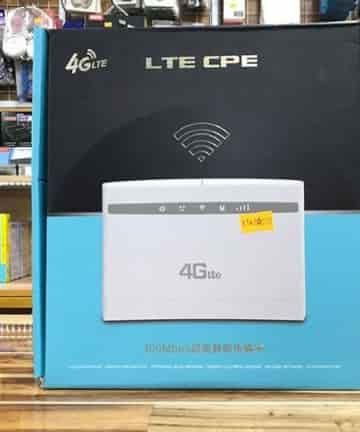 Router HUAWEI Wifi 4G LTE - CP101 + 2 anten (300Mbps - 3 cổng lan)