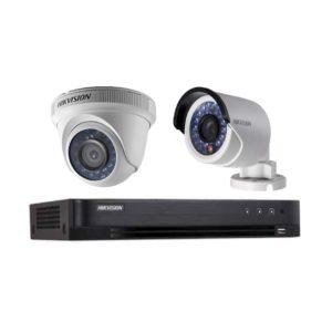 BỘ HIKVISION 4 CAMERA 1.0MP HD, H.264+, 1000GB