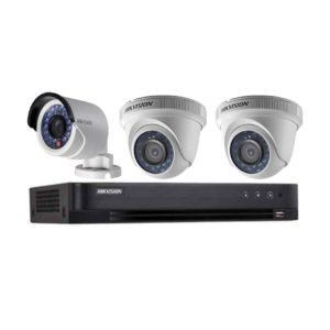 BỘ HIKVISION 2 CAMERA 2/0MP FHD, H.265+, 500GB