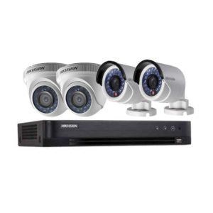 BỘ HIKVISION 4 CAMERA 1.0MP HD, H.264+, 500GB
