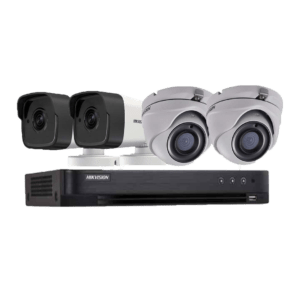 BỘ HIKVISION 4 CAMERA FULL HD H.265+, 1000GB