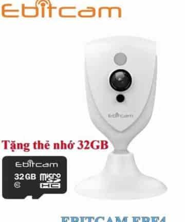 Camera Cube EBF4 (2MP) Tặng kèm thẻ nhớ 32Gb khi đặt mua Camera Ebitcam®