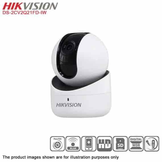 HIKVISION IPW DS-2CV2Q21FD-IW 2.MP PANTILT